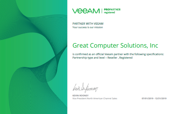 Veeam Authorized Reseller & Partner